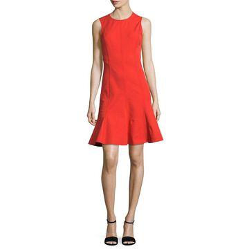 Derek Lam 10 Crosby Womens Fit & Flare Dress