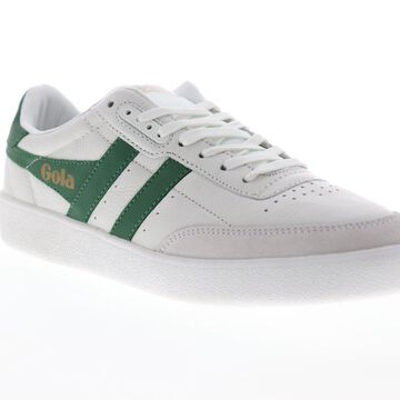 Gola Inca Leather Mens White Leather Lace Up Low Top Sneakers Shoes