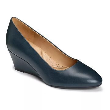 Aerosoles Inner Circle Women's Wedge Shoes, Size: 5, Blue