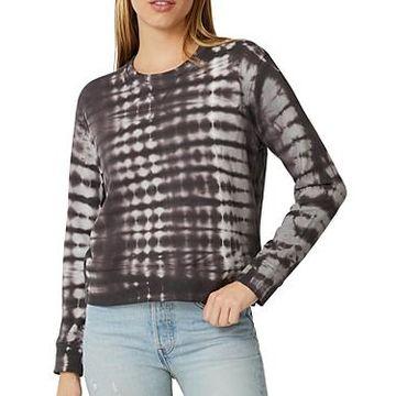 Monrow Crewneck Printed Sweatshirt