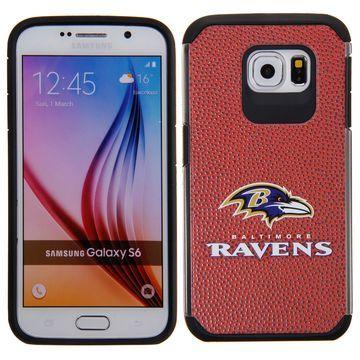 Baltimore Ravens Samsung Galaxy S6 Football Pebble Grain Case