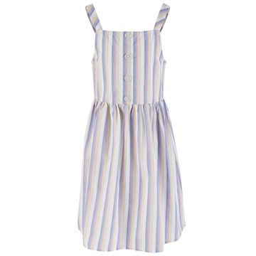 Big Girls Striped Cotton Sundress, Created for Macy's