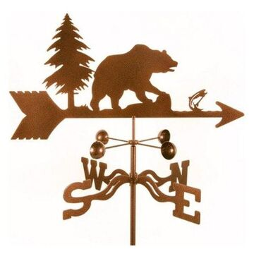 Ez Vane Bear Weathervane With Roof Mount