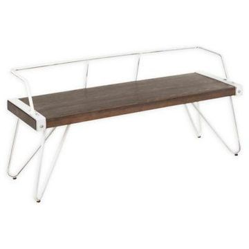 Lumisource Stefani Bench in Espresso