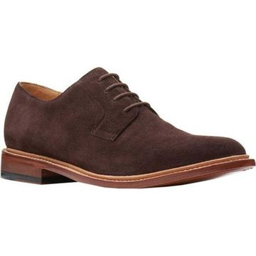 Bostonian Men's No16 Soft Low Oxford Chocolate Suede