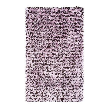 The Rug Market Shaggy Raggy 5 x 8 Shag Pink Solid Area Rug   02257D