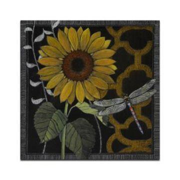 "Ready2HangArt 'Flora Petals Iv' Floral Canvas Wall Art - 20"" x 20"""