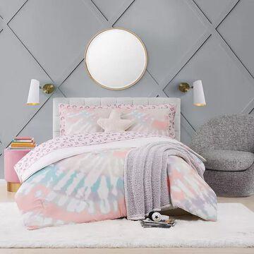 Material Girl Tie Dye Party Complete Bedding Set, Multicolor, Queen