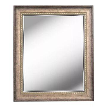 Kenroy Home Amiens Wall Mirror, Beig/Green, 36X30