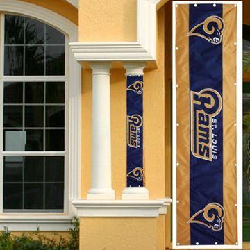 Classic St. Louis Rams 24'' x 96'' Column Wrap