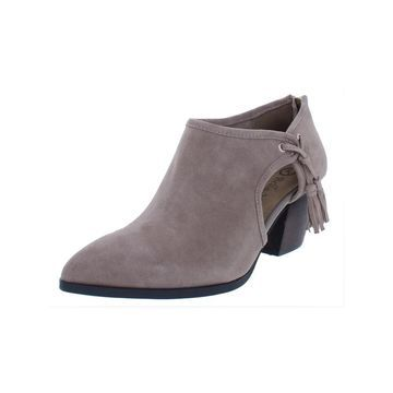 Bella Vita Womens Eli Shooties Suede Tassels