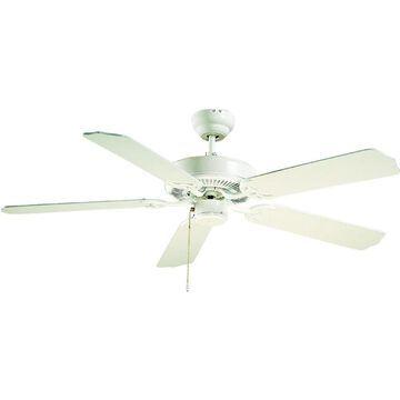 White 52-in Outdoor Ceiling Fan