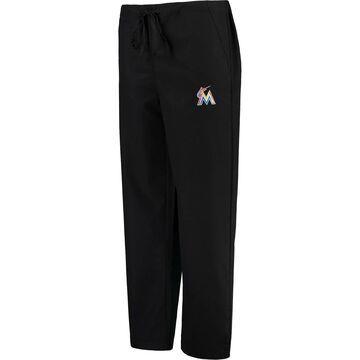 Miami Marlins Concepts Sport Scrub Pants - Black