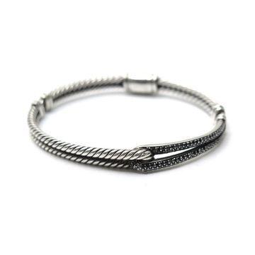 David Yurman Silver Silver Bracelets
