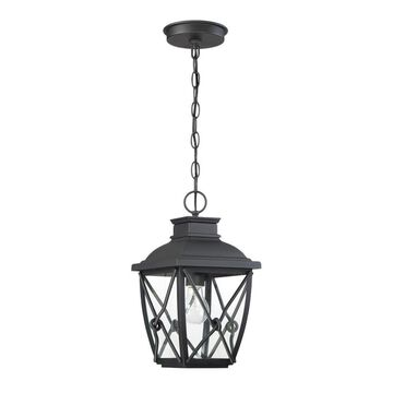 Designers Fountain Belmont 1 Light Outdoor Hanging Lantern | 34834-BK