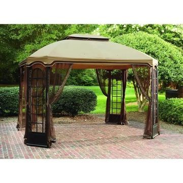 Sunjoy Replacement Canopy set (Deluxe) for L-GZ454PST-C 10X12 Terrace Gazebo