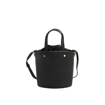 Violeta BY MANGO - Bucket bag black - One size - Plus sizes
