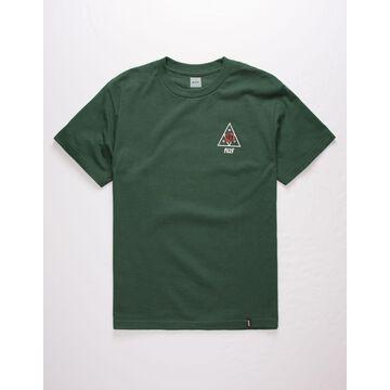 Rose Triple Triangle Mens T-Shirt