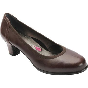 Ros Hommerson Women's Halo Pump Brown Leather
