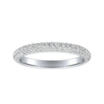 Auriya 1/2ctw Diamond Wedding Band 18k Gold