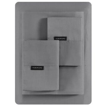 Vera Wang Repose Wellness Solid 4 Piece Sheet Set, King Bedding