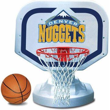 Poolmaster Denver Nuggets NBA USA Competition-Style Poolside Basketball Game
