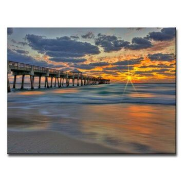 Ready2HangArt 'Boardwalk Glory' Canvas Wall Art, 20