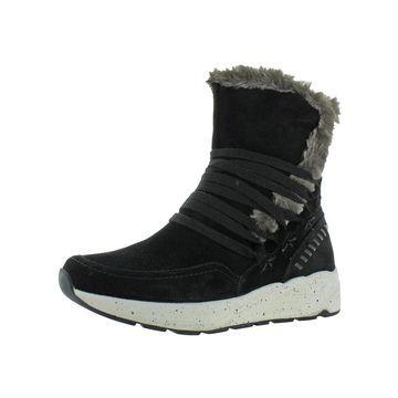 Earth Womens Roamer Winter Boots Suede Faux Fur