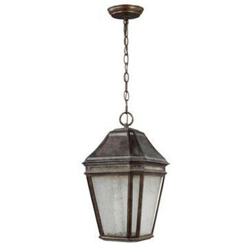 Feiss Londontowne Large LED Outdoor Pendant in Weathered Chestnut
