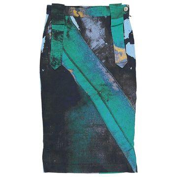 Vivienne Westwood Green Cotton Skirts