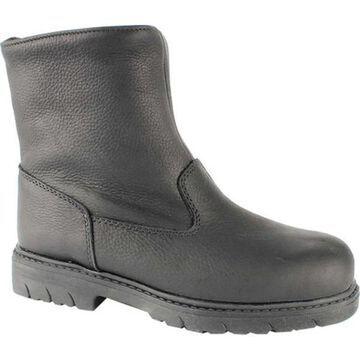 Toe Warmers Men's Aaron Waterproof Snow Boot Black Leather
