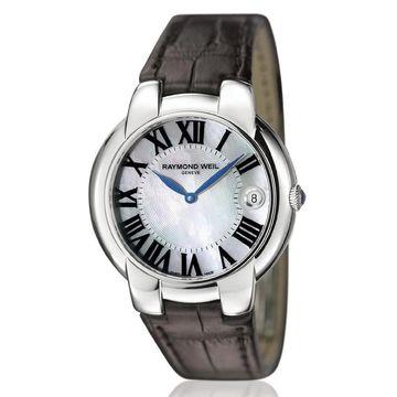 Raymond Weil Women's 5235-STC-00970 Jasmine Leather Watch