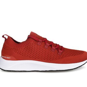 Vance Co. Rowe Men's Shoe (Red - Size 9.5 - FABRIC)