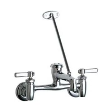 Chicago Faucets 897 Wall Mounted Utility / Service Faucet - Chrome