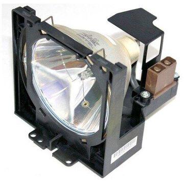 Sanyo PLC-XP19 Projector Housing with Genuine Original OEM Bulb