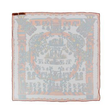 Hermes Eperon D'or, By Henri D'origny Silk Scarf (Authentic Pre-Owned)