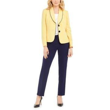 Le Suit Two-Button Slim Fit Pantsuit