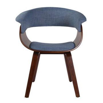 Porthos Home Living Room Chair With Fabric Upholstery, Wooden Legs And Arm Rests (Mid-Century Style, Various Colors)