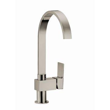 Design House 547638 Single Handle Kitchen Faucet - Satin Nickel