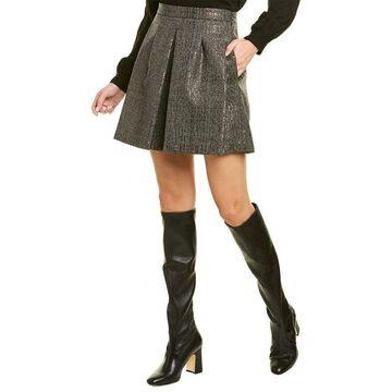 Brunello Cucinelli Sequin Wool Skirt