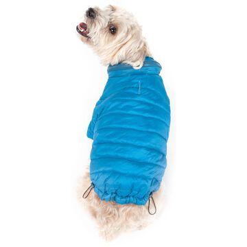 Pet Life Blue Lightweight Adjustable Sporty Avalanche Pet Coat, X-Large