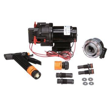 Seachoice 17851 Wash Down System Pump 2.9 GPM Max @ 41 PSI 12V DC Includes Spray Nozzle and Inlet Strainer