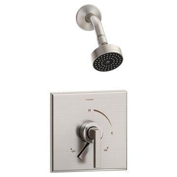 Symmons Duro Satin Nickel 1-Handle Shower Faucet Stainless Steel