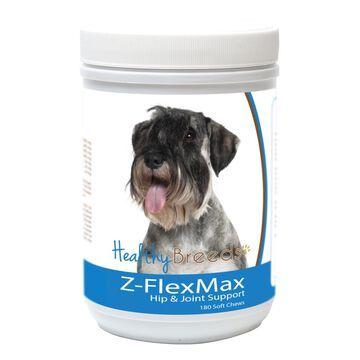 840235188544 Standard Schnauzer Z-Flex Max Dog Hip & Joint Support