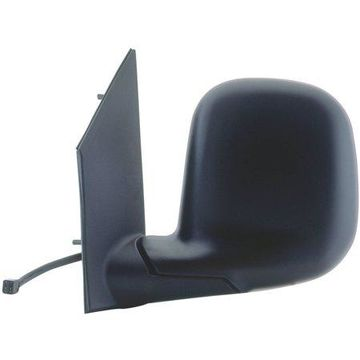 62042G - Fit System Driver Side Mirror for 96-02 Chevy Express full size Van, GMC Savanna full size Van, black, foldaway, Heated Power