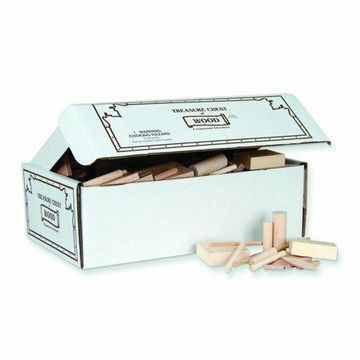 Pacon Treasure Chest of Wood, 10lbs