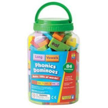 Educational Insights Long Vowel Phonics Dominoes