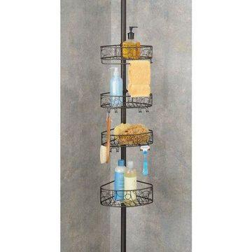iDesign Twigz Tension Pole Caddy, Bronze