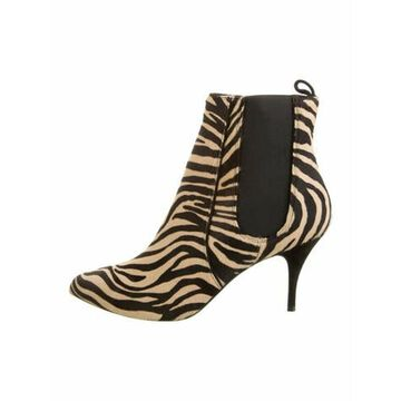 Ponyhair Animal Print Boots w/ Tags