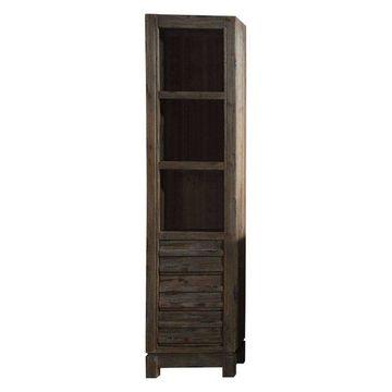 Legion Furniture Legion Furniture Side Cabinet, Rustic Brown